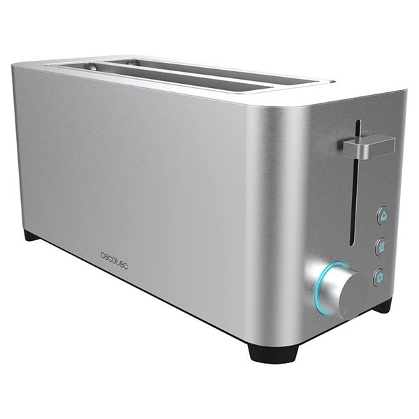 Image of   Cecotec Brødrister - Stående - Yummytoast Extra Double - 1400w - Stål
