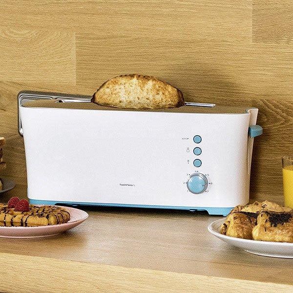 Image of   Cecotec Brødrister - Toast&taste 1l 1000w - Hvid