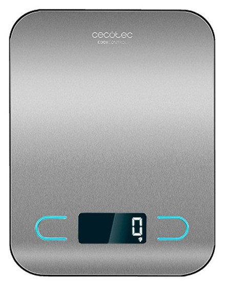Image of   Cecotec Køkkenvægt - Cook Control 8000 - Maks 5 Kg - Stål