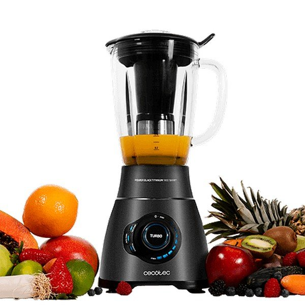 Image of   Cecotec Kop Blender - Power Black Titanium 1800 Smart - 2,1l 1800w - Rustfrit Stål