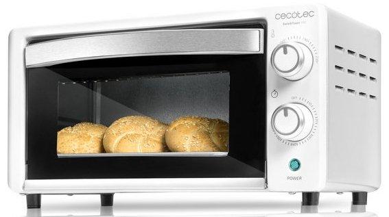 Image of   Cecotec Miniovn - Baken Toast 10l 1000w - Hvid