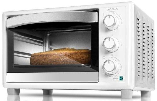 Image of   Cecotec Miniovn - Baken Toast 23l 1500w - Hvid
