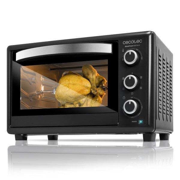 Image of   Cecotec - Miniovn Med Varmluft - Baken Toast Gyro - 30l 1500w - Sort
