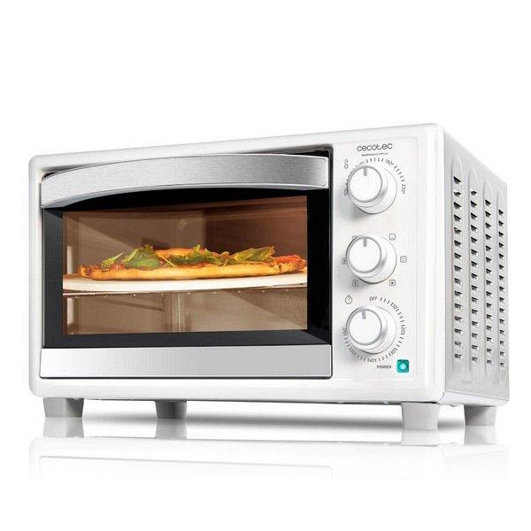 Image of   Cecotec - Miniovn Med Varmluft - Baken Toast Pizza - 26l 1500w - Hvid