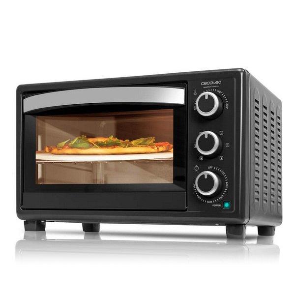 Image of   Cecotec - Miniovn Med Varmluft - Baken Toast Pizza - 26l 1500w - Sort