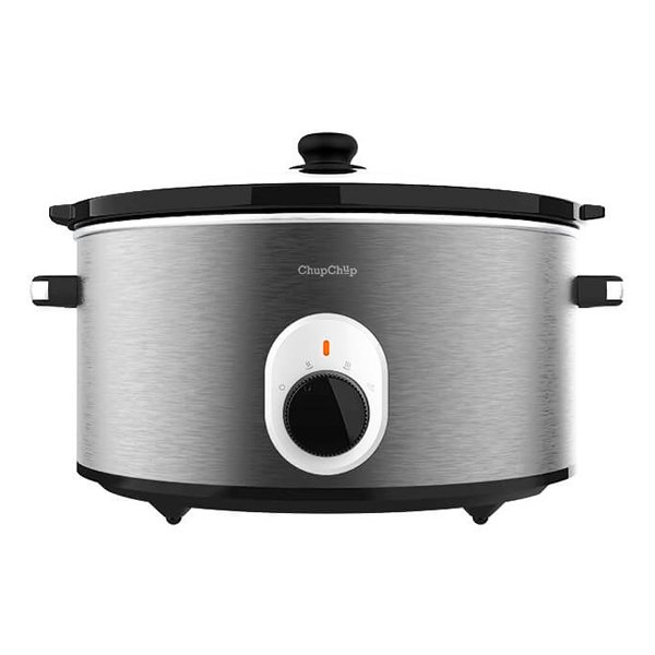 Image of   Cecotec - Slow Cooker - Chupchup 5,5l - 260w - Grå Sort