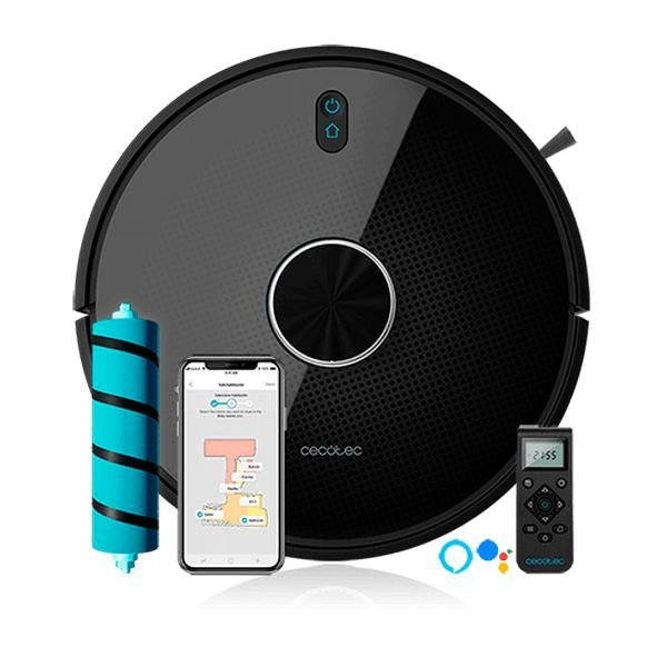 Image of   Cecotec - Smart Robotstøvsuger Med Wifi - Conga 4090 - Sort