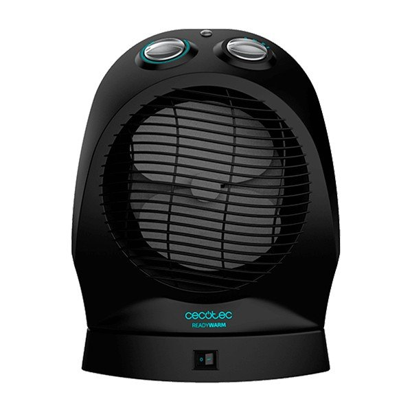 Image of   Cecotec Varmeblæser - Ready Warm 9750 Rotate Force - 2400w - Sort