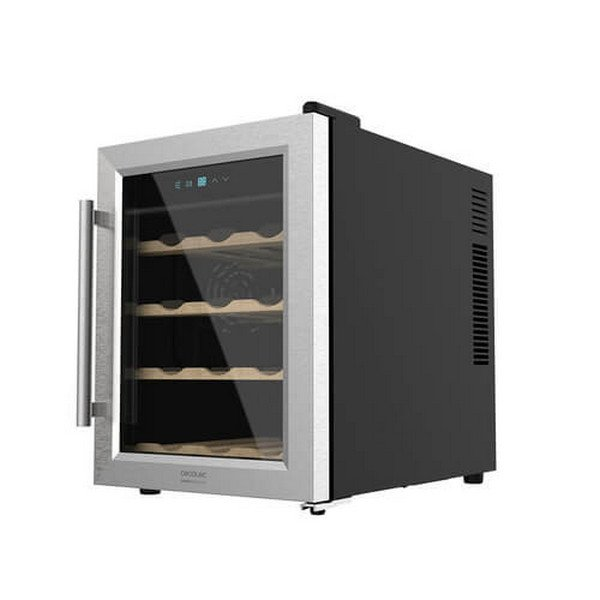 Image of   Cecotec Vinkøleskab - Grand Sommelier 1200 Coolwood - 33l - Sort