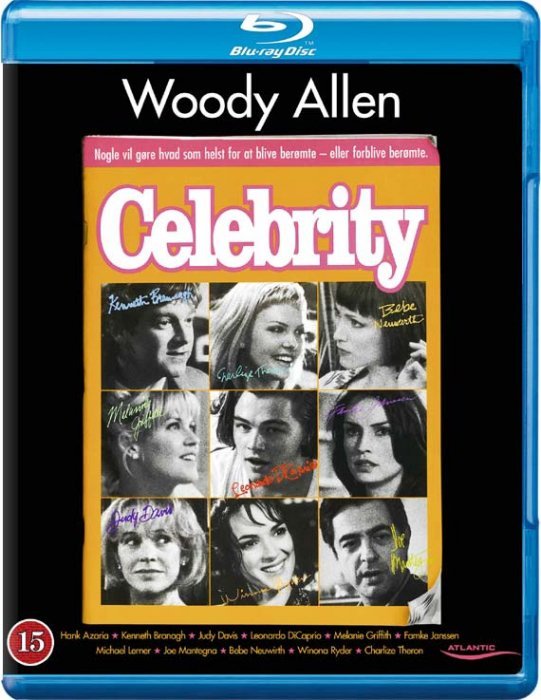 Image of   Celebrity - Woody Allen - Blu-Ray