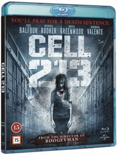 Image of   Cell 213 - Blu-Ray