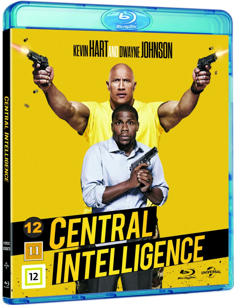 Image of   Central Intelligence - Blu-Ray