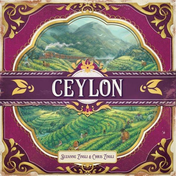 Ceylon - Brætspil På Engelsk