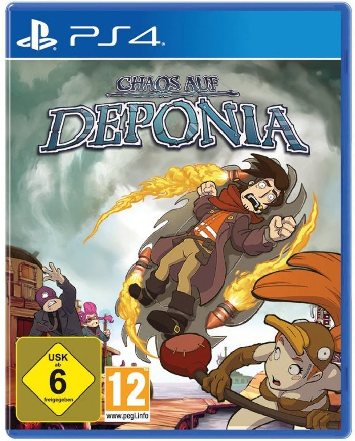 Image of   Chaos On Deponia - PS4