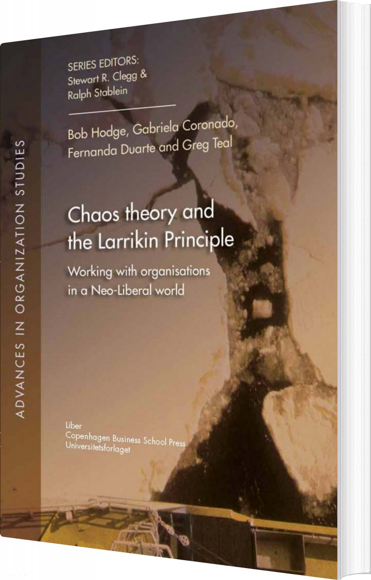 Image of   Chaos Theory And The Larrikin Principle - Bob Hodge - Bog