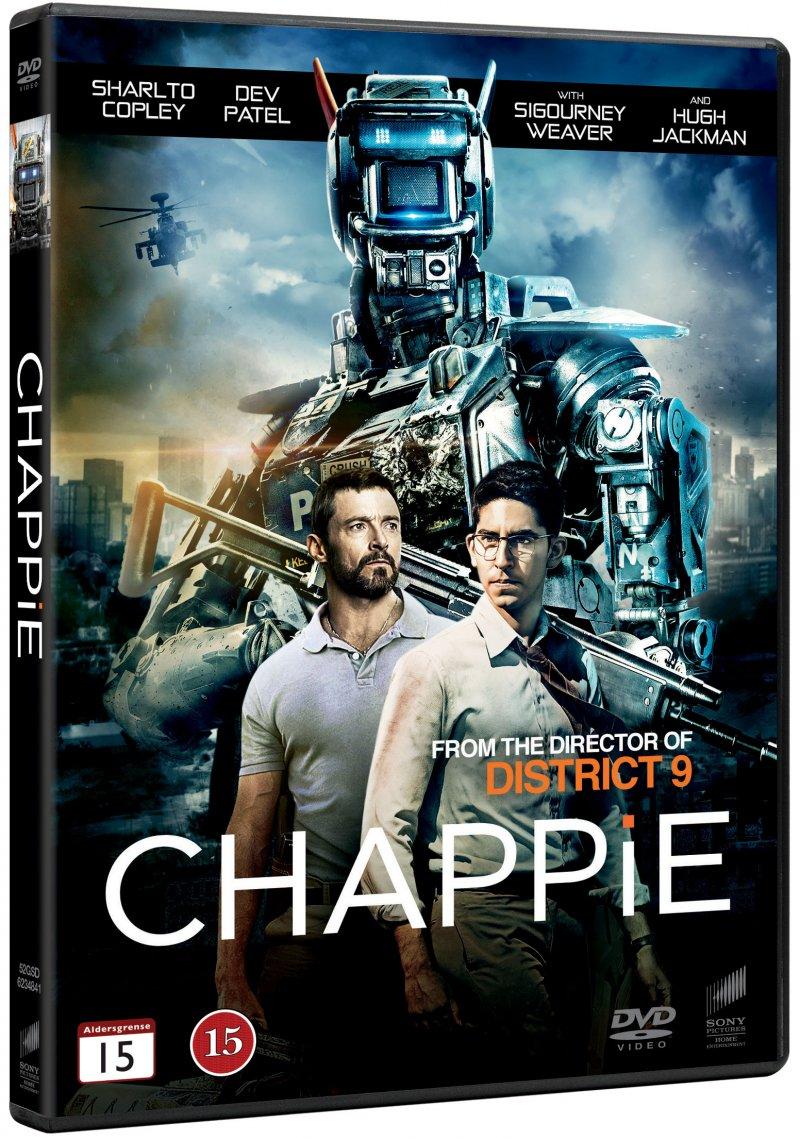 Image of   Chappie - 2015 - DVD - Film