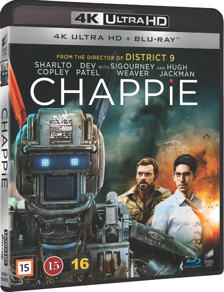 Image of   Chappie - 4K Blu-Ray