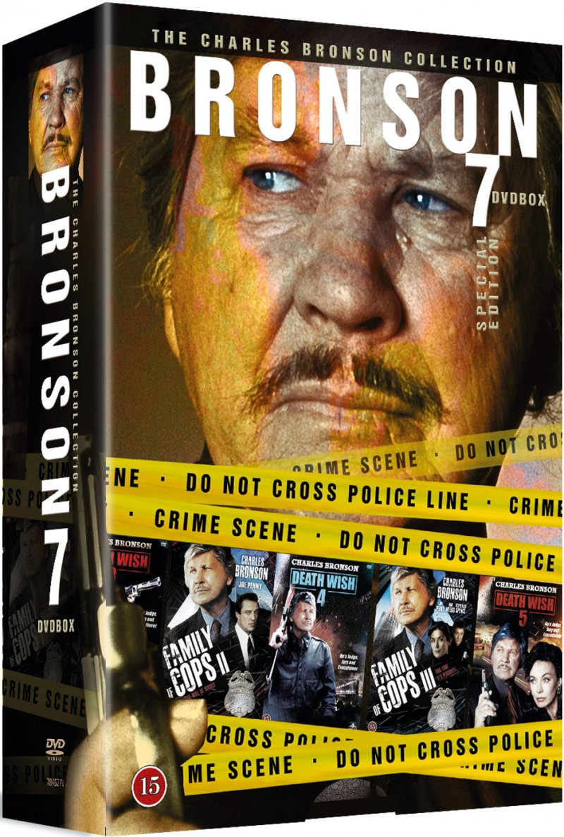 Image of   Charles Bronson Collection - DVD - Film
