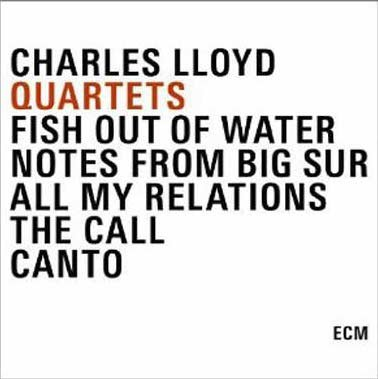 Image of   Charles Lloyd - Quartets - CD