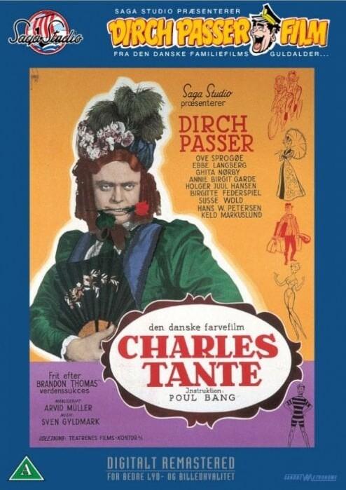 Billede af Charles Tante - DVD - Film