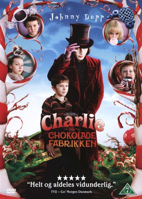Image of   Charlie Og Chokoladefabrikken / Charlie And The Chocolate Factory - DVD - Film