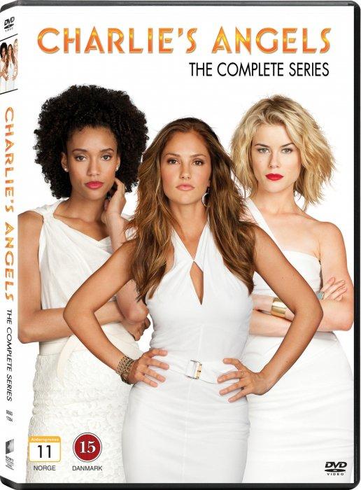 Image of   Charlies Angels - Den Komplette Serie - DVD - Tv-serie