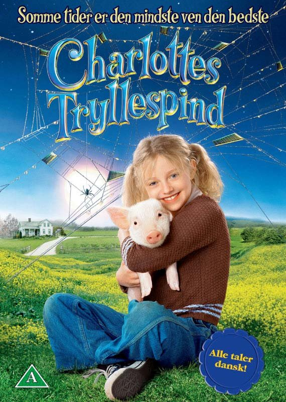 Image of   Charlottes Tryllespind / Web - DVD - Film