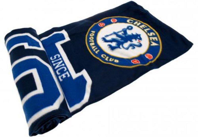 Image of   Chelsea Merchandise - Fleecetæppe