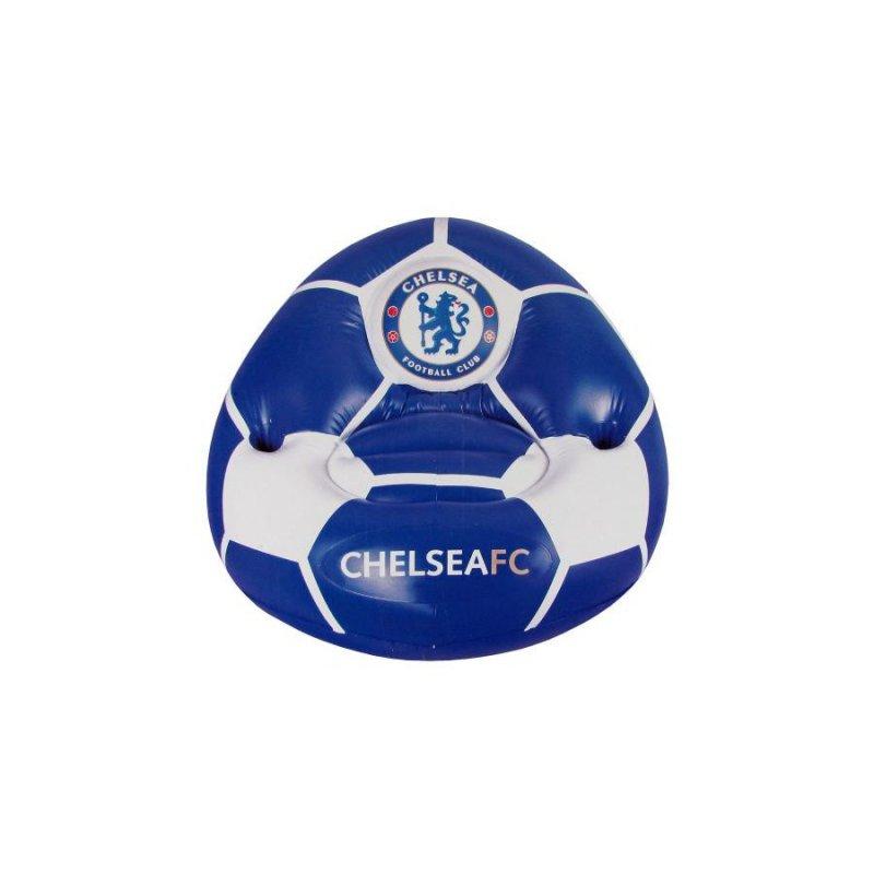 Billede af Chelsea Stol - Oppustelig Fodbold Stol Med Logo