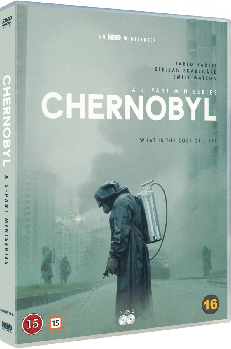 Image of   Chernobyl / Tjernobyl - Hbo Serie 2019 - DVD - Tv-serie