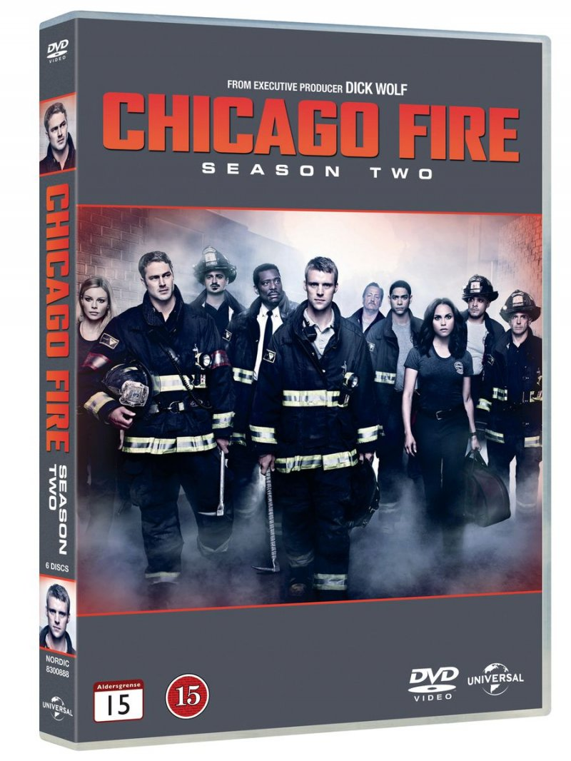 Image of   Chicago Fire - Sæson 2 - DVD - Tv-serie