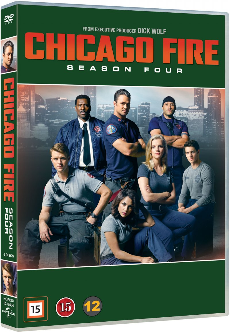 Image of   Chicago Fire - Sæson 4 - DVD - Tv-serie