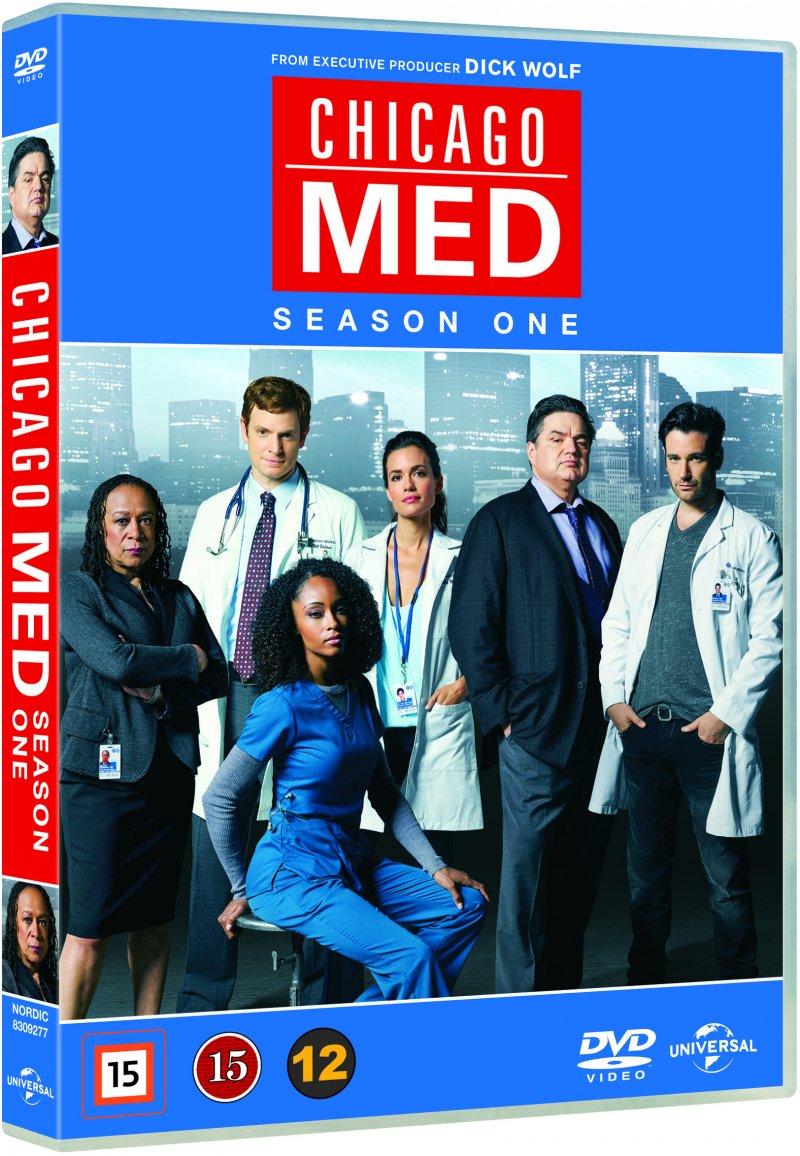 Billede af Chicago Med - Sæson 1 - DVD - Tv-serie