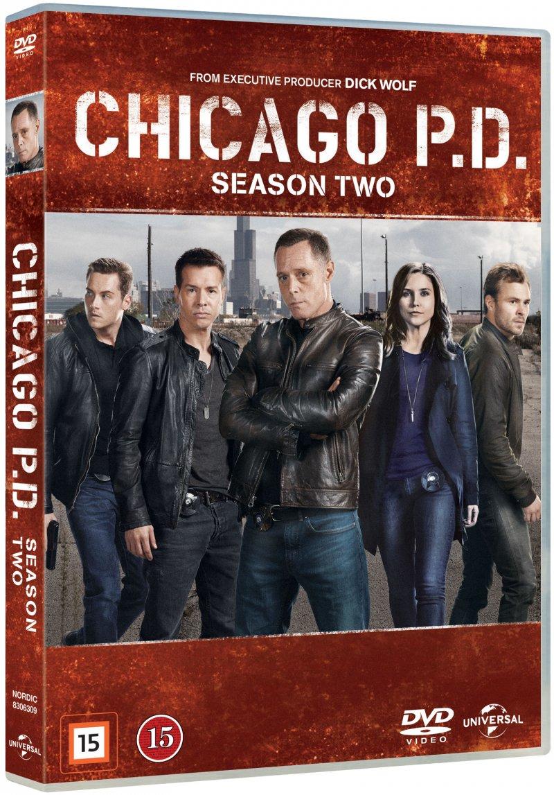 Image of   Chicago P.d. - Sæson 2 - DVD - Tv-serie