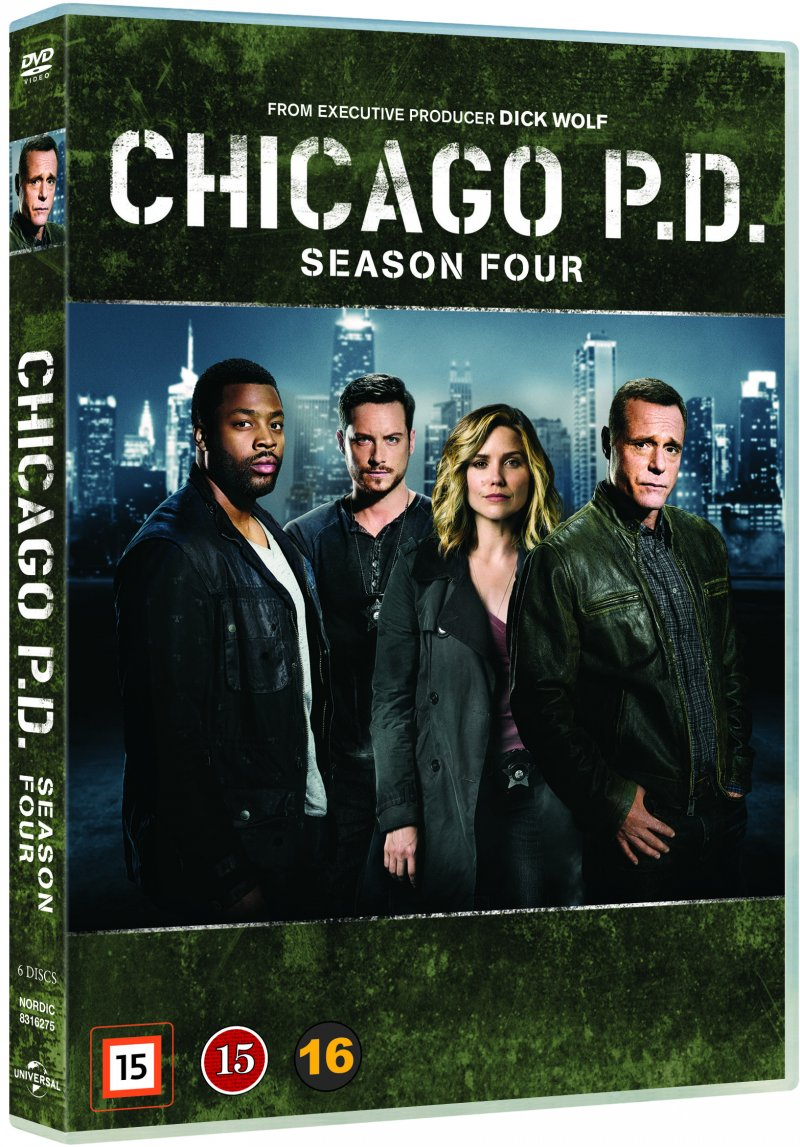 Image of   Chicago P.d. - Sæson 4 - DVD - Tv-serie