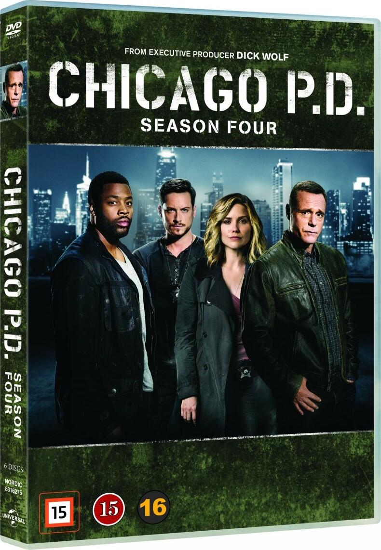 Image of   Chicago P.d. - Sæson 4 - DVD - Tv-serie