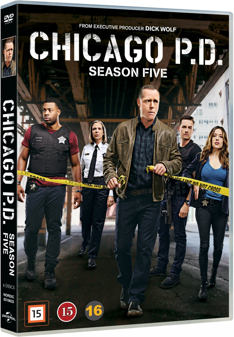 Image of   Chicago P.d. - Sæson 5 - DVD - Tv-serie