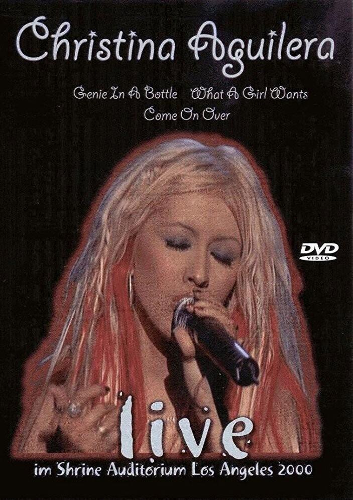 Billede af Christina Aguilera - Live 2000 - DVD - Film