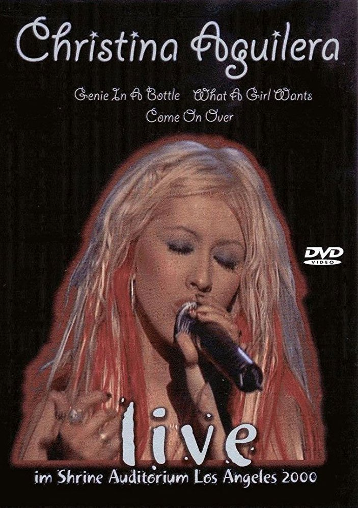 Image of   Christina Aguilera - Live 2000 - DVD - Film