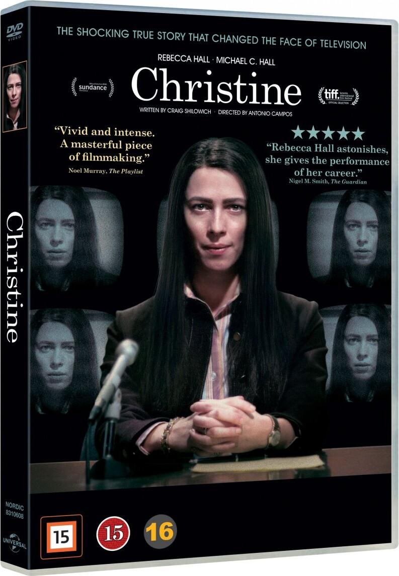 Image of   Christine Film - 2016 - DVD - Film