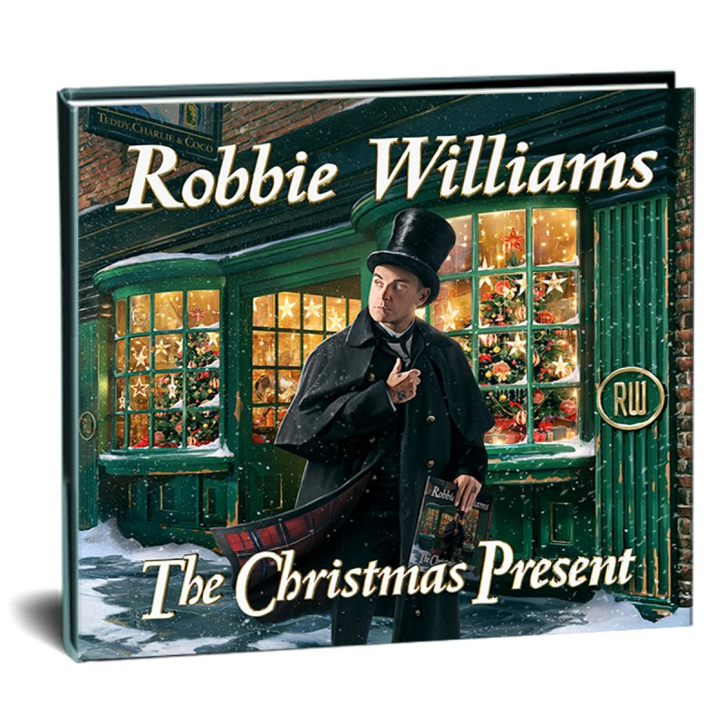 Robbie Williams - The Christmas Present - Deluxe Edition CD → Køb CDen billigt her