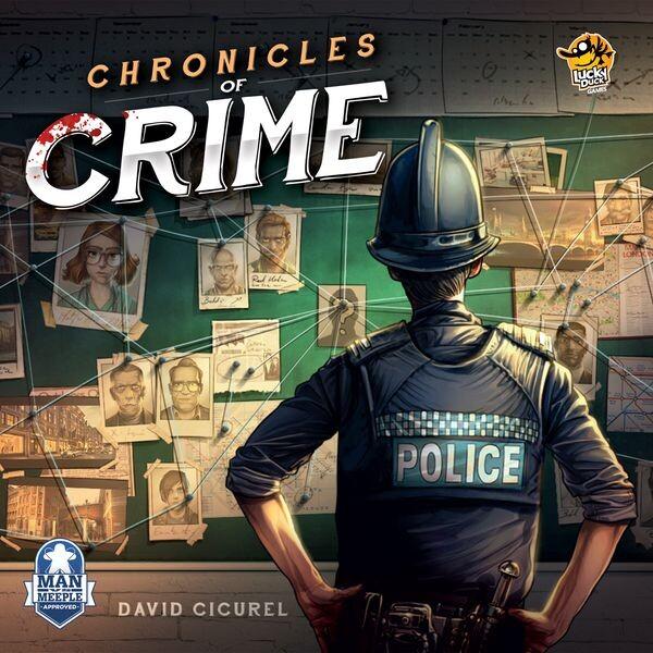 Chronicles Of Crime - Brætspil På Engelsk