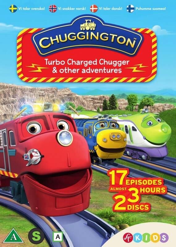 Billede af Chuggington - Sæson 4 Vol. 1 - DVD - Film