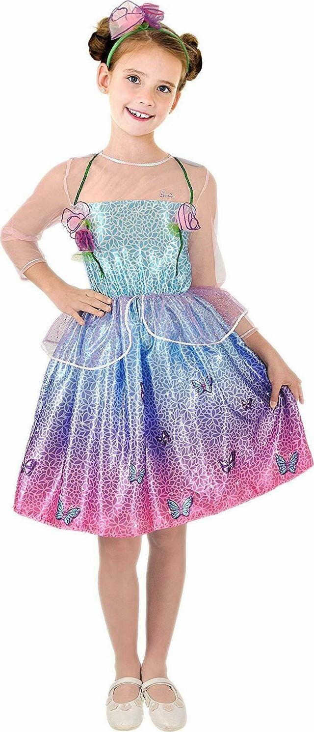 Barbie Kjole Udklædning – 4-5 år