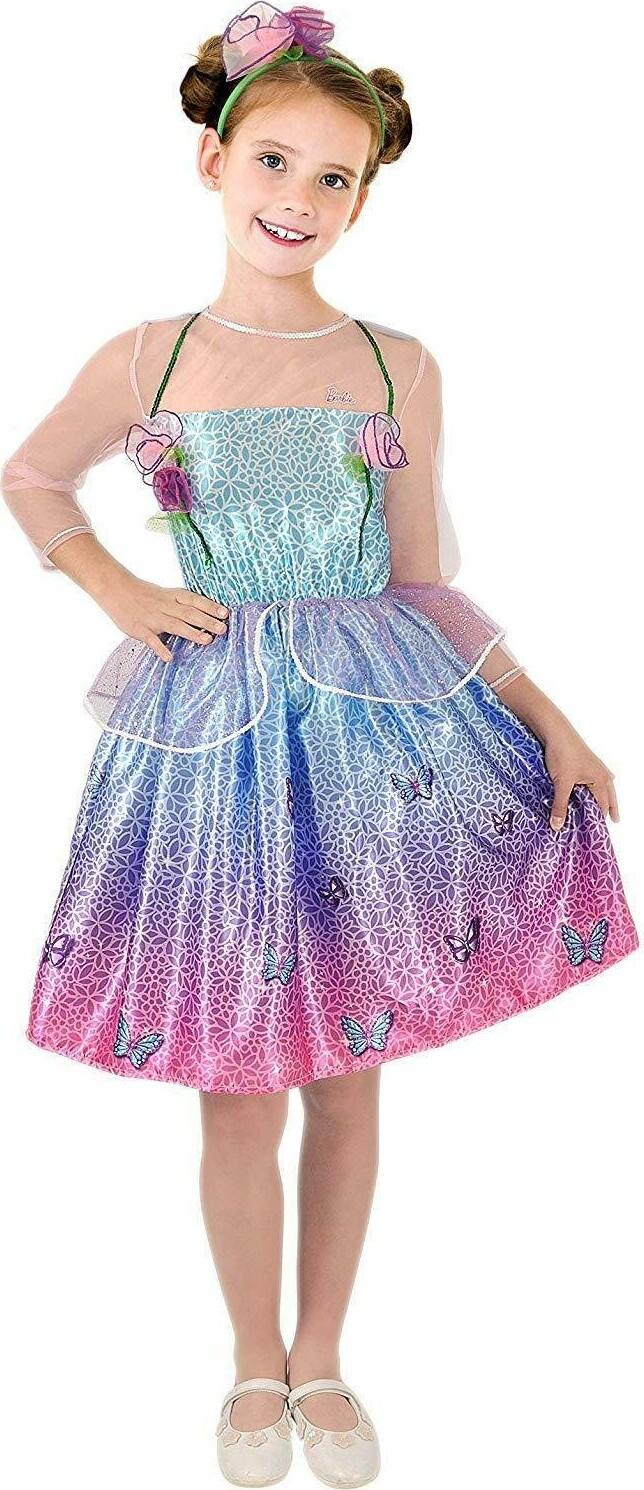 Barbie Kjole Udklædning – 5-7 år