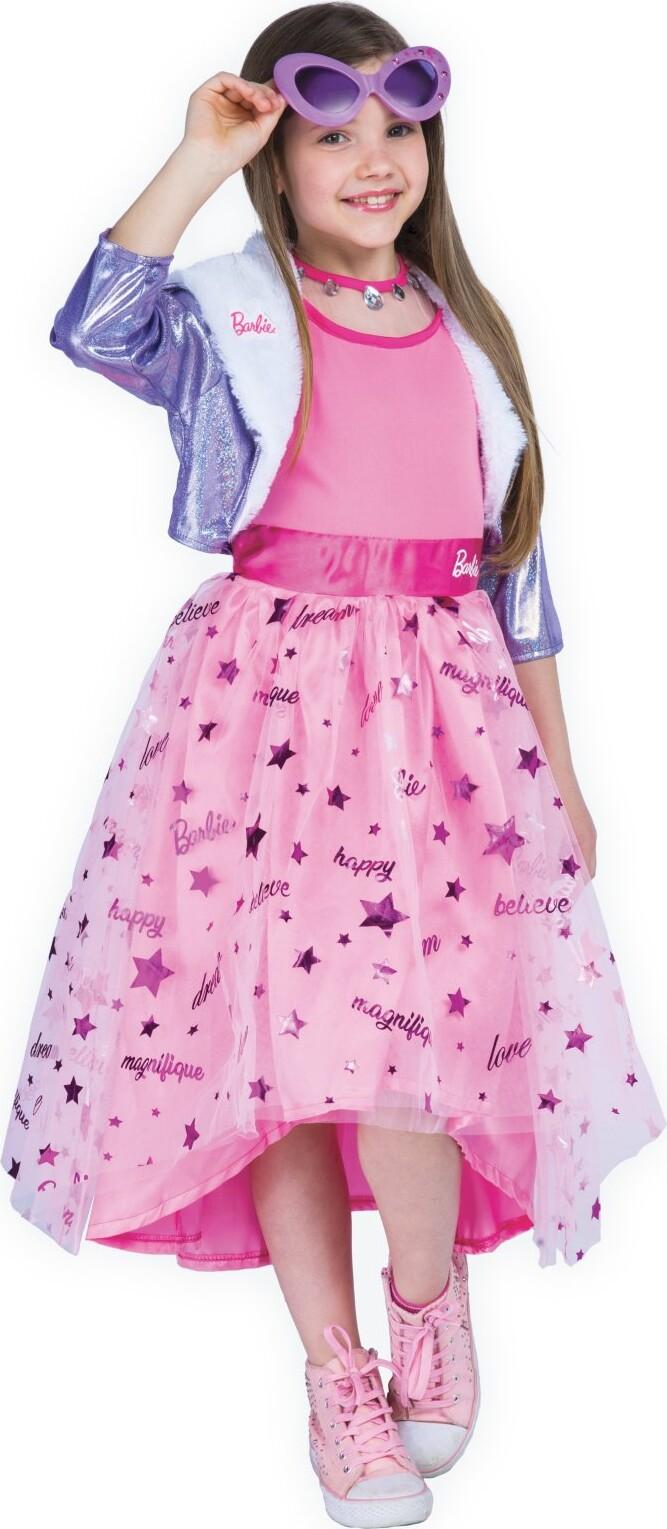 Barbie Kjole Udklædning – Prinsesse – 4-5 år
