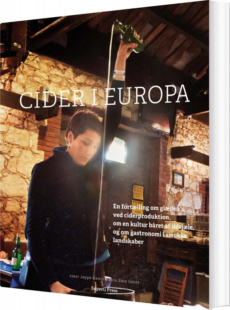 Billede af Cider I Europa - Jeppe Gents - Bog