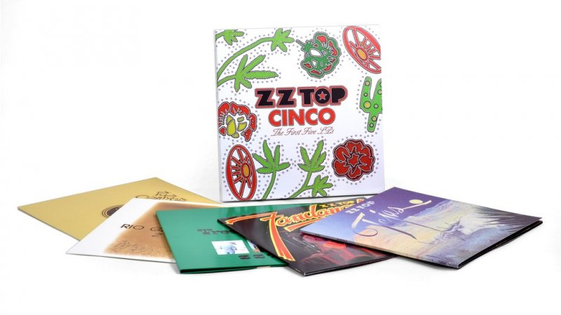 Zz Top - Cinco: The First Five Lps - Vinyl / LP