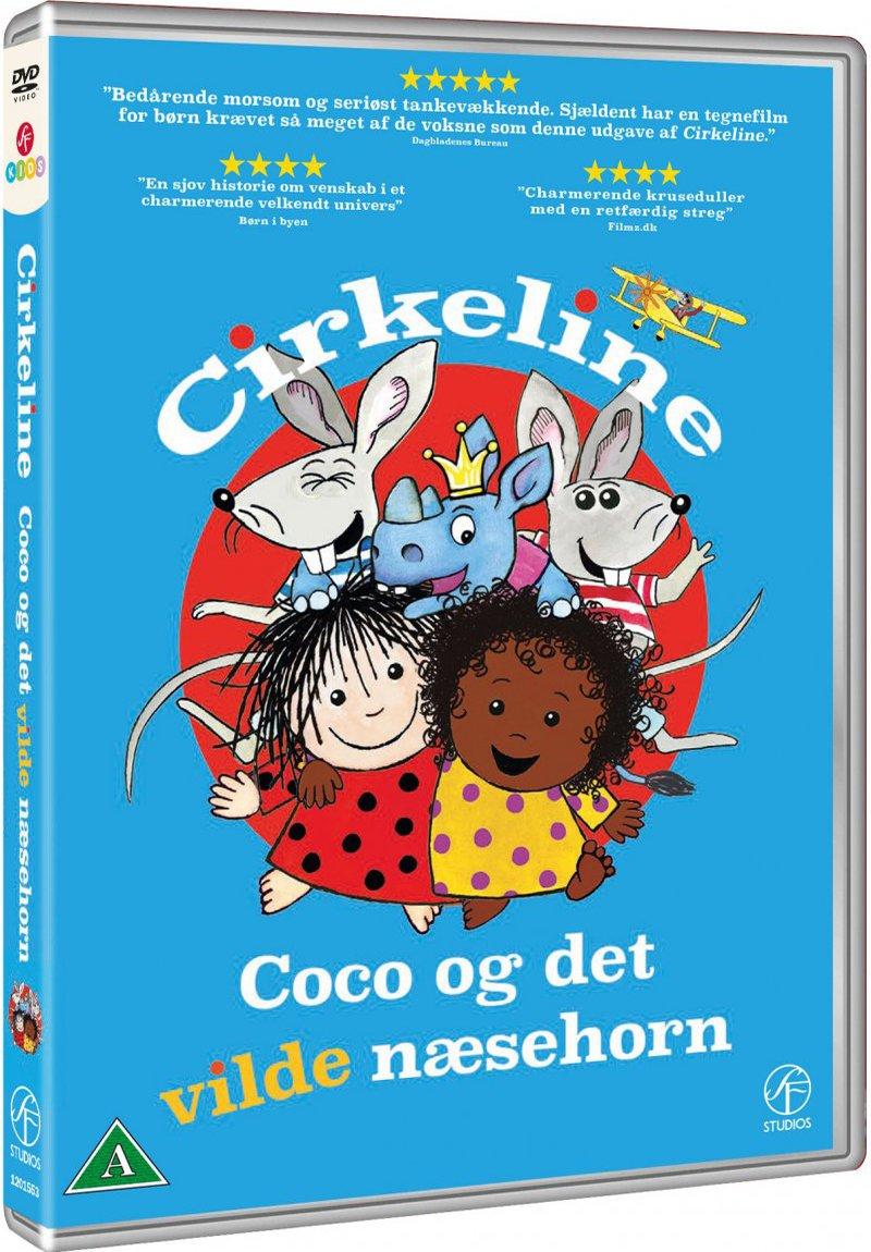 Image of   Cirkeline - Coco Og Det Vilde Næsehorn - DVD - Film