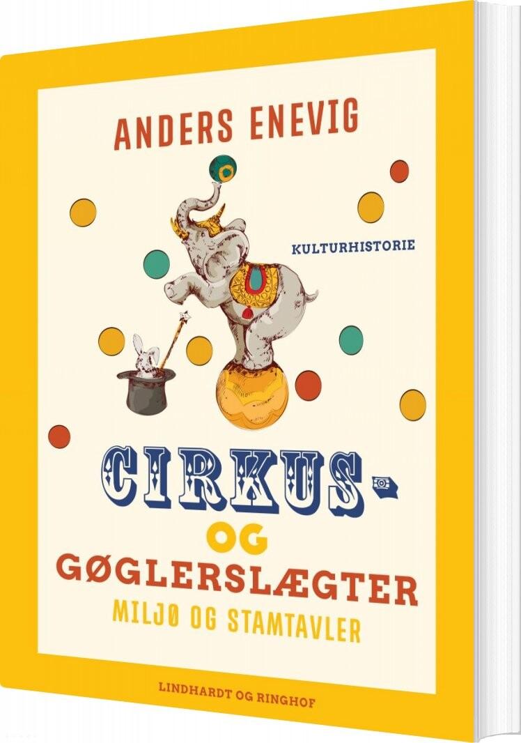 Billede af Cirkus- Og Gøglerslægter - Anders Enevig - Bog